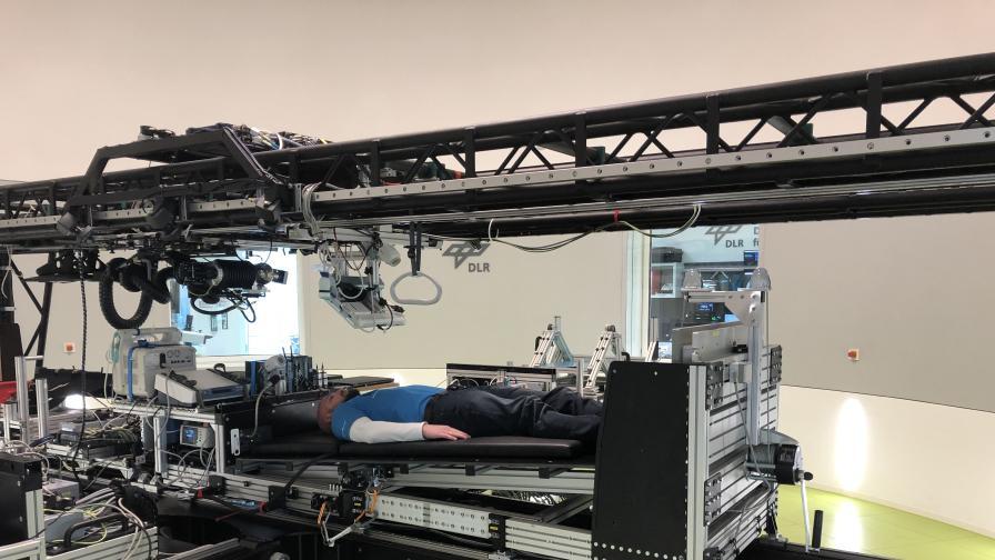 Испытательная центрифуга для искусственной гравитации