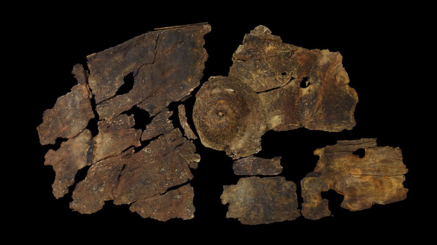 2,300-Летний щит из коры демонстрирует ранее неизвестную технологию железного века