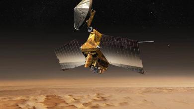 Марсианский разведывательный спутник