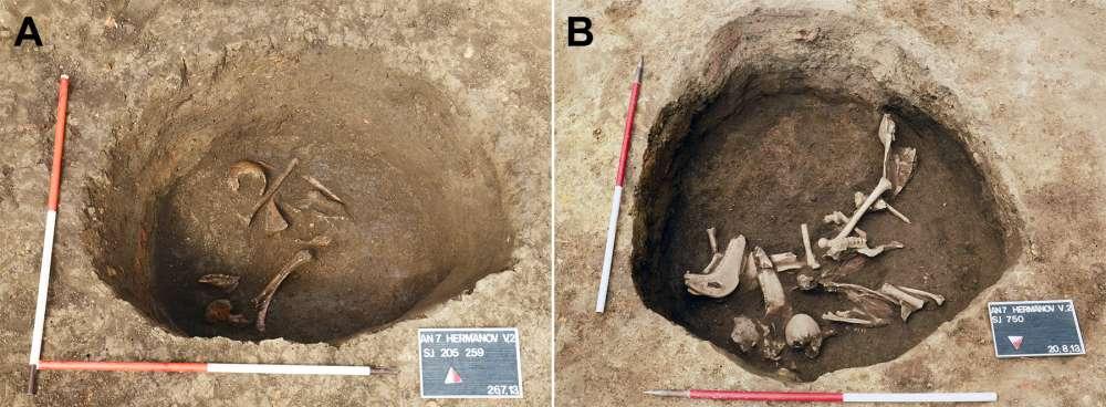 Черепа людей были намеренно деформированы в Хорватии 1500 лет назад