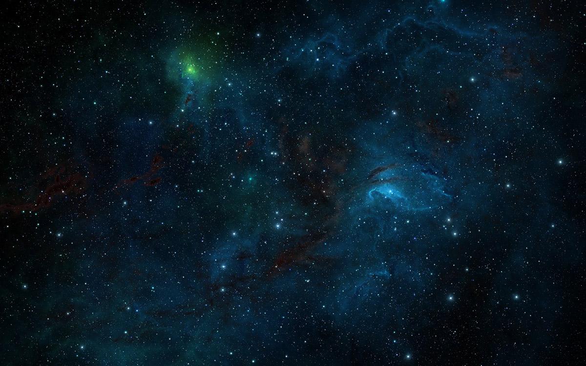 Почему небо черное в космосе