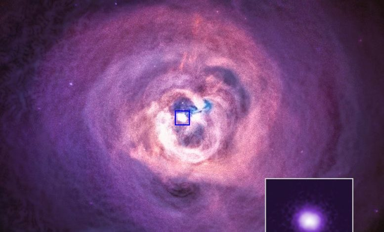 Астрономы использовали телескоп Чандра для проверки теории струн
