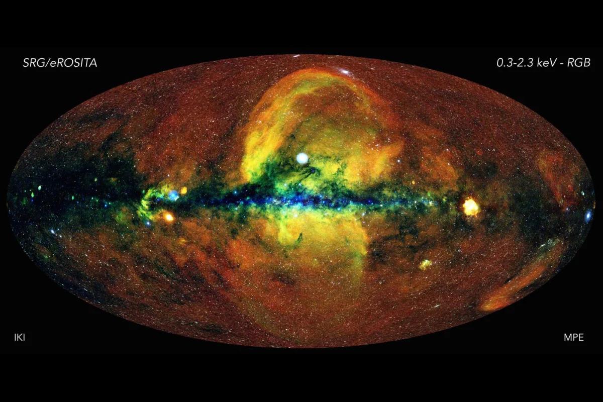 Потрясающее рентгеновское изображение обеспечивает глубокое погружение в Млечный Путь