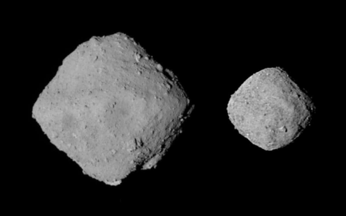 Астероиды Бенну и Рюгу могут иметь одного родителя