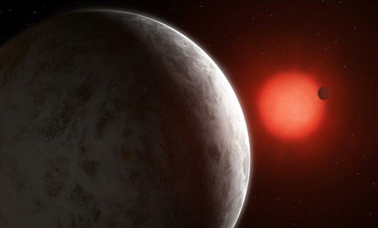 Две суперземли, обнаруженные вокруг близкой звезды