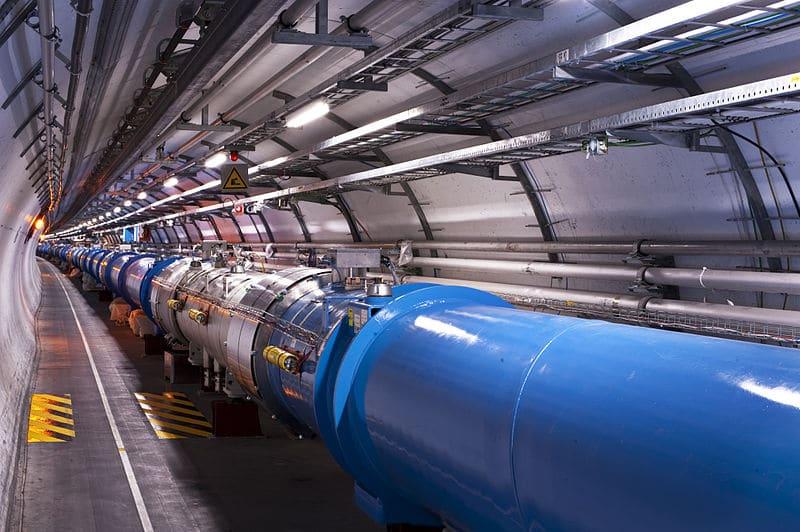 Открытие в ЦЕРНе экзотической частицы, никогда ранее не встречавшейся