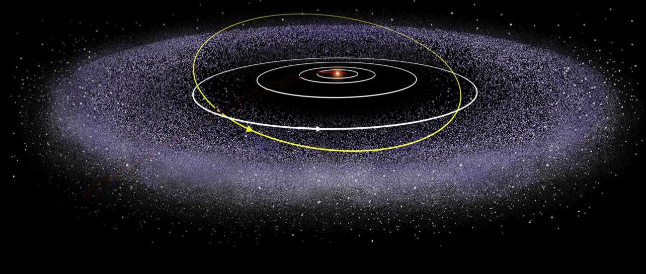 Что такое комета и почему она светится?