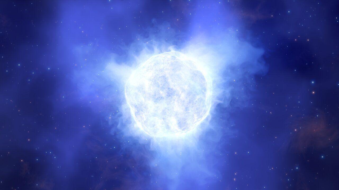 Космическая тайна: массивная звезда исчезает без следа