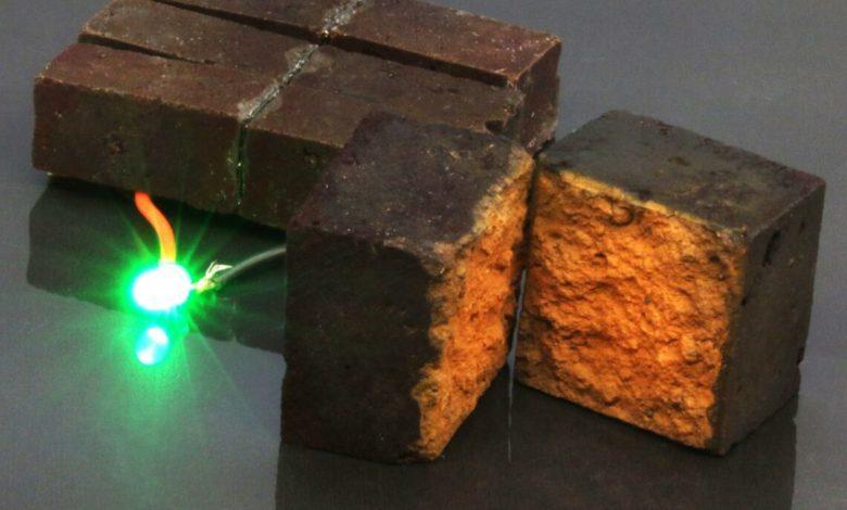 Красные кирпичи с полимерным покрытием могут превратить весь ваш дом в батарею
