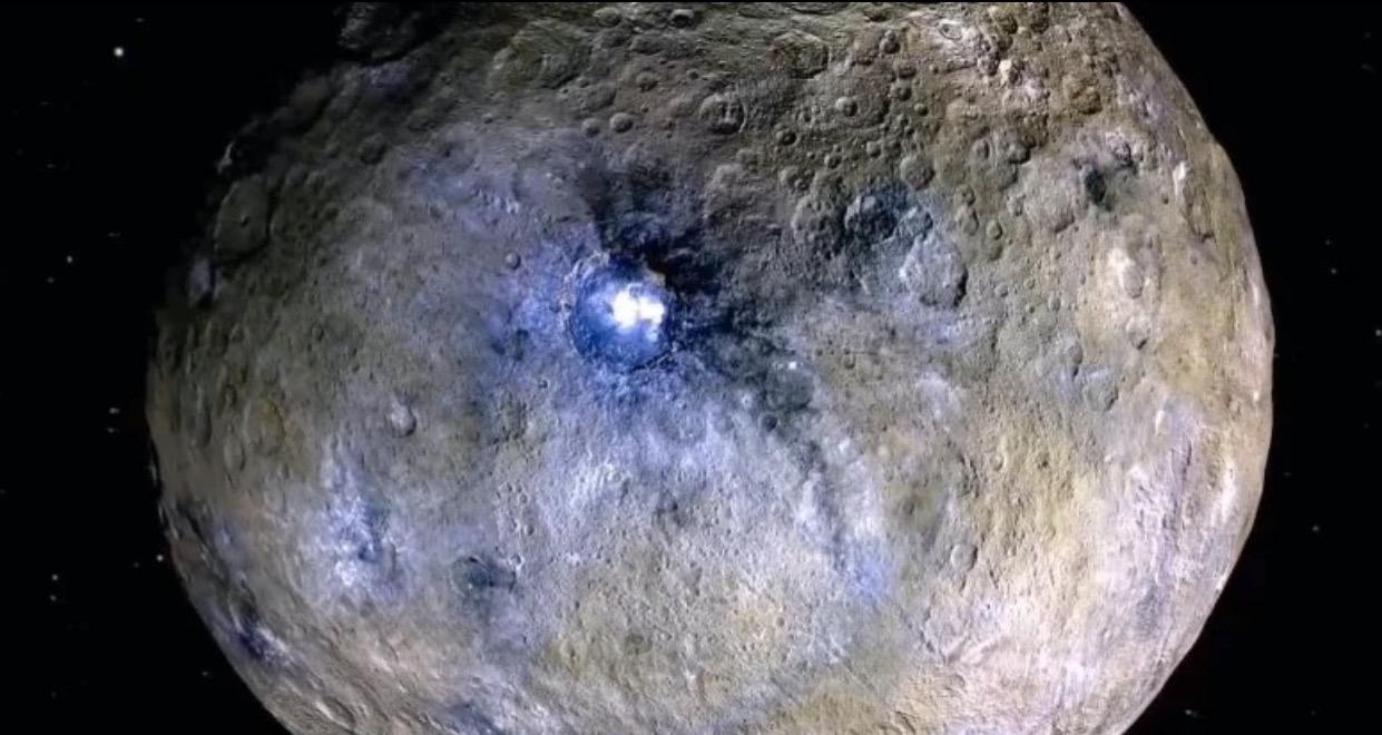Карликовая планета Церера, некогда считавшаяся стерильной, на самом деле представляет собой океанический мир