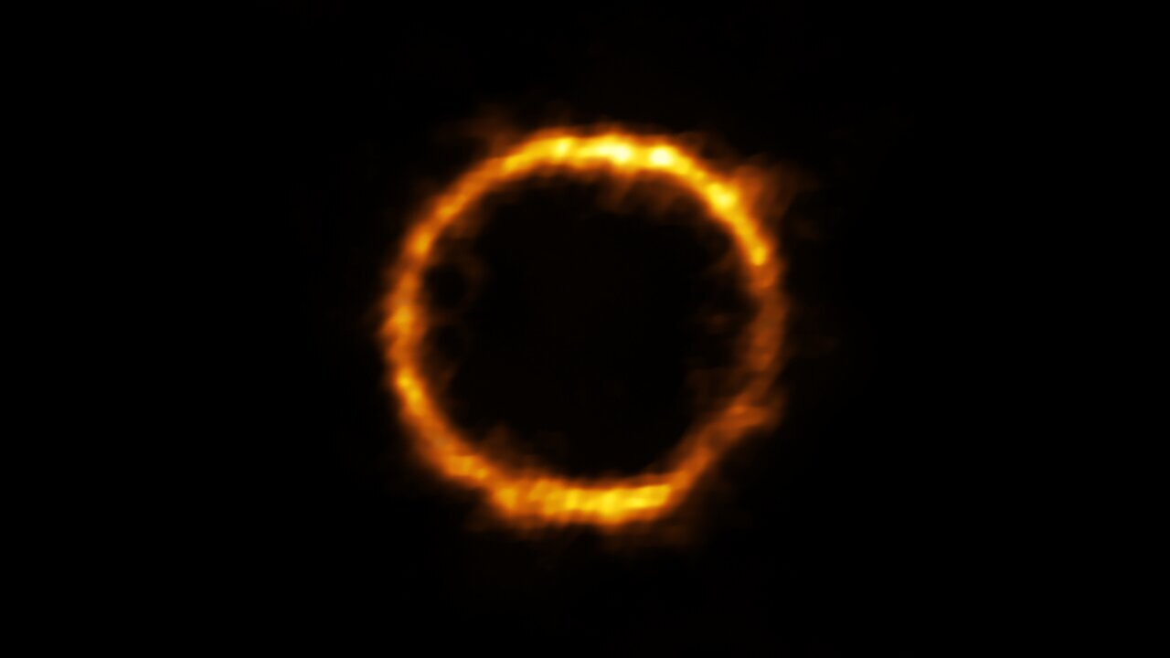 Галактика, похожая на Млечный Путь, обнаруженная в ранней Вселенной