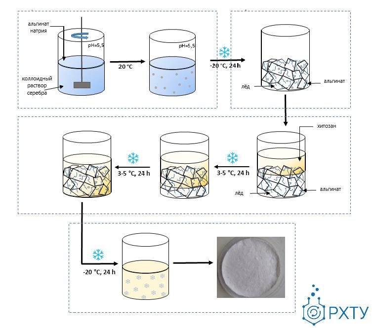 Российские химики разработали кровоостанавливающий материал из полностью природных компонентов