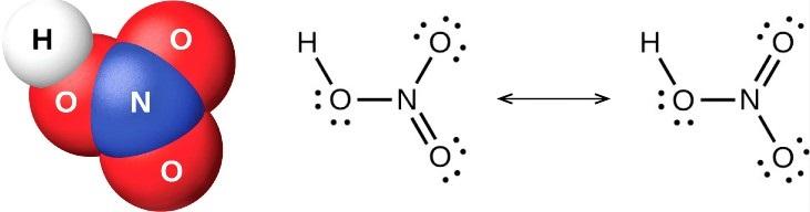Азотная кислота [HNO3]: структура Льюиса / свойства / применение